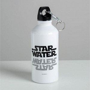 """Бутылка для воды """"Star water"""", 400 мл"""
