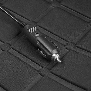 Накидка с подогревом TORSO, 12 В, регулятор, провод 130 см, черный