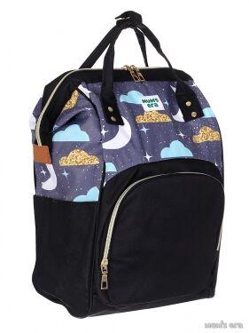 """Сумка-рюкзак для мамы """"Comfort"""", черный"""