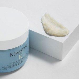Скраб ЭНЕРДЖИЗАН Интенсивно очищающий Скраб-Уход для склонной к жирности кожи головы и волос 500 г