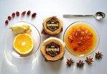 """Варенье """"Пряный апельсин"""" (апельсин, клюква, бадьян, гвоздика, имбирь, сахар, лимонный сок)  100 мл"""