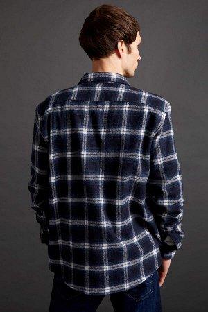 рубашка Размеры модели: Надет размер: L  Хлопок 20%, Полиэстер 20%, Акрил 60%