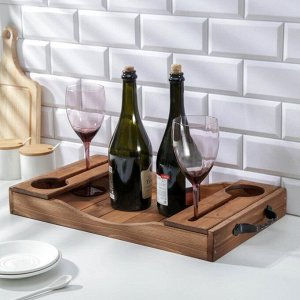 Поднос для вина «Выдержка», 53,5?31?8,5 см