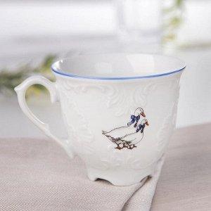Чашка кофейная «Рококо Гуси», 170 мл