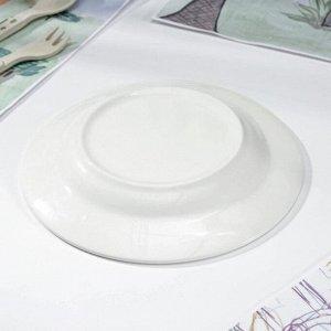 Тарелка мелкая «Феечки», d=17,5 см