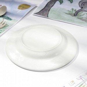 Тарелка мелкая «Дружок», d=17,5 см