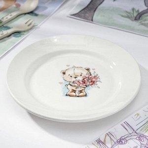 Тарелка мелкая «Кроха», d=20 см