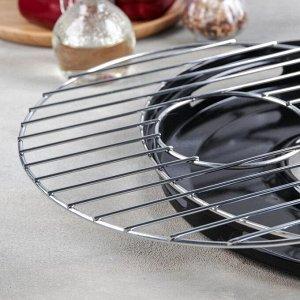 Сковорода- гриль Healthy grill, d=33 см, антипригарное покрытие