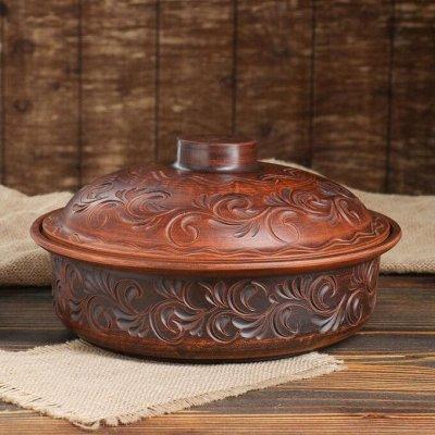 Посуда для дома на любой вкус — Сковороды из глины — Классические сковороды