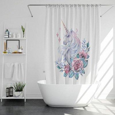 Соц. закупка💯Время экономить! Лучшие товары — Стильные Шторки для ванной комнаты