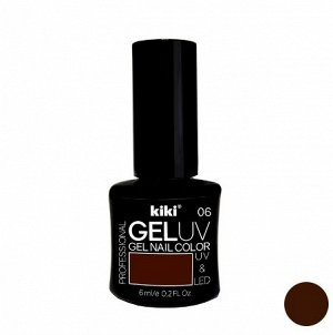 КК Гель - лак GEL UV & LED №06 шоколадный Professional (для сушки в лампе) 6мл