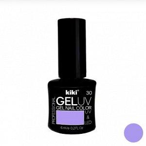 КК Гель - лак GEL UV & LED №30 пастельно-лиловый Professional (для сушки в лампе) 6мл