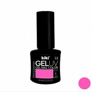 КК Гель - лак GEL UV & LED №32 ультра-розовый Professional (для сушки в лампе) 6мл