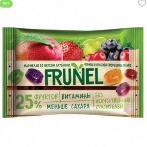 «Frunel», мармелад со вкусом клубники, чёрной и красной смородины, манго, винограда, 40 г