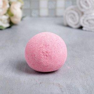 """Бомбочка для ванн в фольге """"8 Марта, бордовый"""", 130 г. Ягодный аромат"""