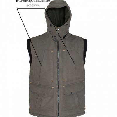 Бабек - одежда для охоты и рыбалки!+Классные мужские шапки👌 — Жилеты — Одежда