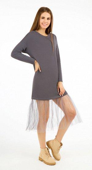 Платье женское 2465/02/Серый