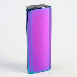 Зажигалка электронная, USB, спираль, фонарик, микс, 2.5х7.5 см