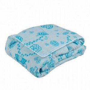 Одеяло 110*140 шерсть/бязь