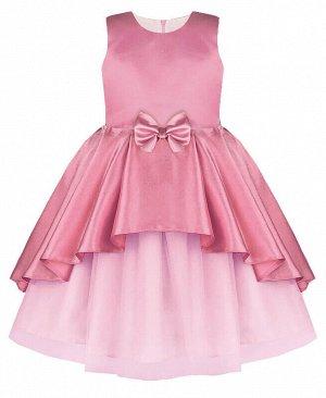 Пурпурное нарядное платье для девочки Цвет: розовый