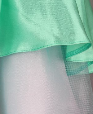 Ментоловое нарядное платье для девочки Цвет: ментоловый