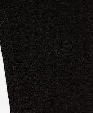 Серые брюки для девочки Цвет: тёмно-серый