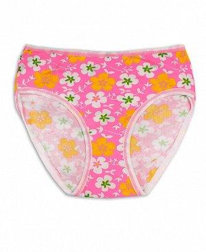 Трусы для девочки Цвет: розовый