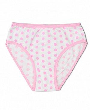 Трусы для девочки Цвет: бл.розовый