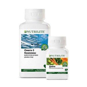 NUTRILITE™ Набор Омега-3 комплекс и NUTRILITE™ Дэйли