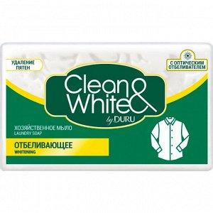 Мыло хозяйственное DURU Clean&White 125 гр
