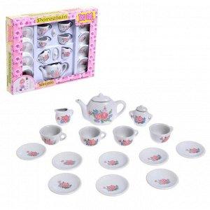 Набор керамической посуды «Цветы»