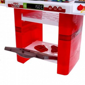 Игровой модуль «Готовим барбекю», с аксессуарами, свет, звук