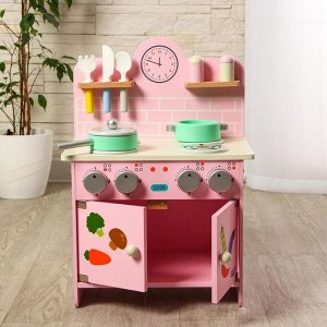 Игровой деревянный набор «Кухня», 23 * 30 * 49 см