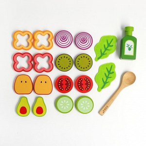 Игровой набор овощей «Для салата» 24,7х32,7х7,5 см