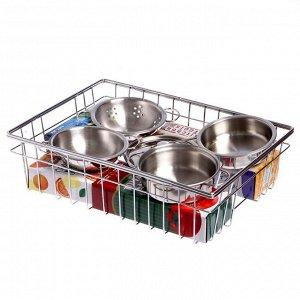 Набор металлической посуды «Кухонька»