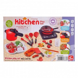 Набор посуды «Шеф-повар» с плитой, аксессуарами в коробке