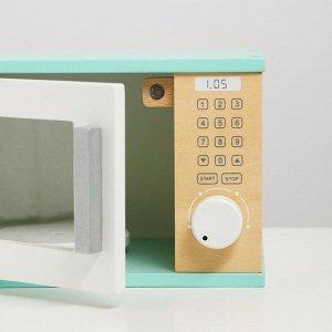 Игрушка деревянная «Микроволновка» 21х16х13,5 см