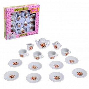 Набор керамической посуды «Мишки»