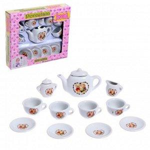 Набор керамической посуды «Чайный сервиз»