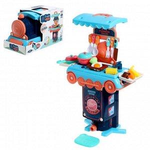 Игровой набор «Кухня», в чемодане-паровозе