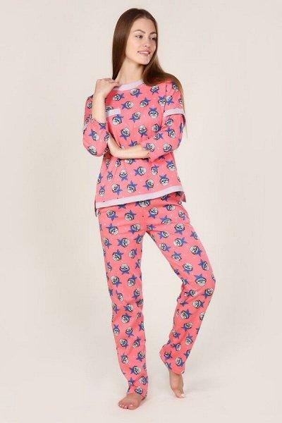 Бюджетный трикотаж для всей семьи — Женская одежда. Пижамы женские