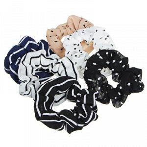 BERIOTTI Резинка для волос, полиэстер, d10см, 2 дизайна, РВ2019-5