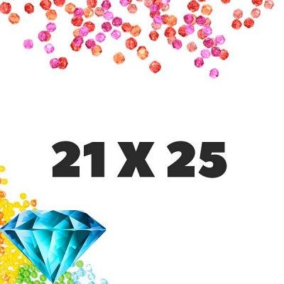 Рисование по номерам&Алмазки🎁Подарочки к 8 марта! — Алмазные мозаики 21x25 — Мозаики и фреска
