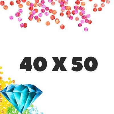 Рисование по номерам&Алмазки🎁Подарочки к 8 марта! — Алмазные мозаики 40x50 квадратные стразы — Мозаики и фреска