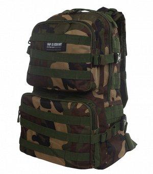 Военный камуфляжный рюкзак Blackhawk (30 литров, Woodland) - Универсальная модель для профессиональных военных, охотников, туристов, выживальщиков. Внутри основного отделения - 8 дополнительных карман