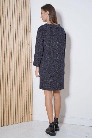 Платье Платье Fantazia Mod 3821  Состав: Вискоза-34%; ПЭ-64%; Спандекс-2%; Сезон: Осень-Зима Рост: 164  Практичность платья из твидового трикотажного полотна сложно переоценить. Его можно носить абсо