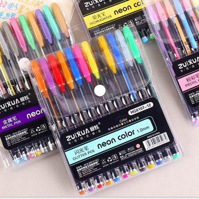 Опять школа-Наличие! Ручки Пиши-стирай, Закладки и другое — Ручки НЕОНОВЫЕ