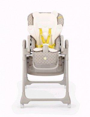 Стульчик для кормления Happy Baby WILLIAM PRO, цвет серый