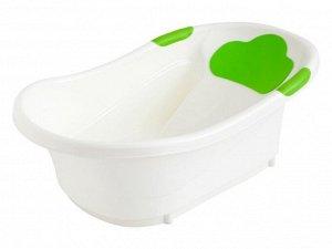 Ванночка ROXY-KIDS  с анатомической горкой со сливом 72 см Зеленый