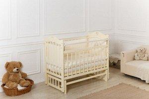Кроватка Incanto Sofi поперечный маятник, цвет слоновая кость